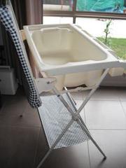 baby changetable and bath combo