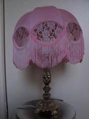 Pretty pink lamp
