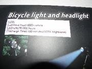 4000 Lumen 3x CREE XM-L T6 LED Bicycle HeadLight or HeadLamp SET