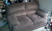 URGENT SALE *** Suede Sofa Comfortable Couch (3 & 2 seater)