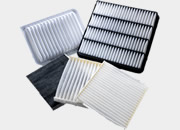 Conical air filters in different angle and diameter