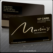 Best Plastic Business cards Service