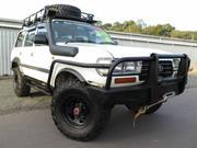 1995 toyota 1995 Toyota Landcruiser GXL (4x4) White Manual 5sp