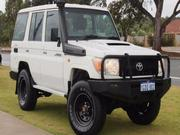 2012 TOYOTA 2012 Toyota Landcruiser Workmate Manual 4x4 MY10