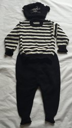 KIDS PIRATE and HAT WOOL SUIT