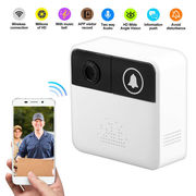 Smart WiFi Doorbell Wireless PIR Video Camera Detection Record Home