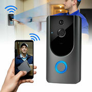 Smart Wireless WiFi Doorbell IR Video Camera PIR Intercom Detection