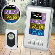 Wireless LCD Digital Thermometer Hygrometer Indoor Outdoor Weather