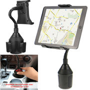 Adjustable Gooseneck Car Cup Holder Mount for Phone Tablet Apple Samsu