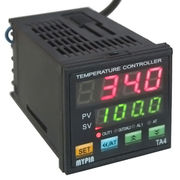 PID Digital Temperature Controller Dual Display SSR TC Kiln Thermocoup