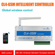 CL4-GSM SMS Call Controller Wireless Remote Sensor Control Switch for